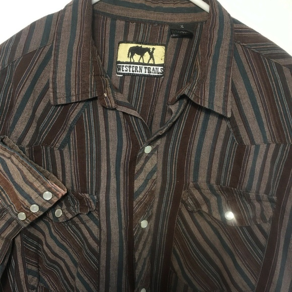 Western Trails Other - Western Trails XL Mens Shirt Button Front